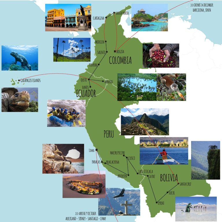 SA Itinerary